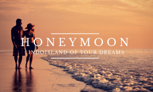 honeymoon in Indonesia